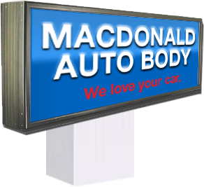 Macdonald Auto Body Logo